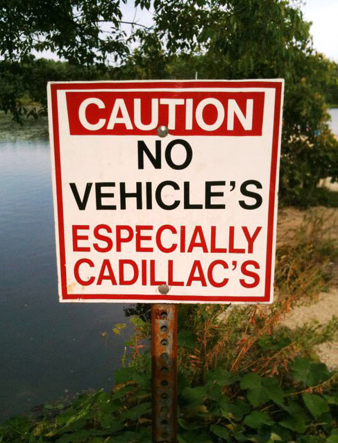 No Vehicle's